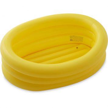 Banheira Infl�vel Oval 55 Litros Amarela - MOR