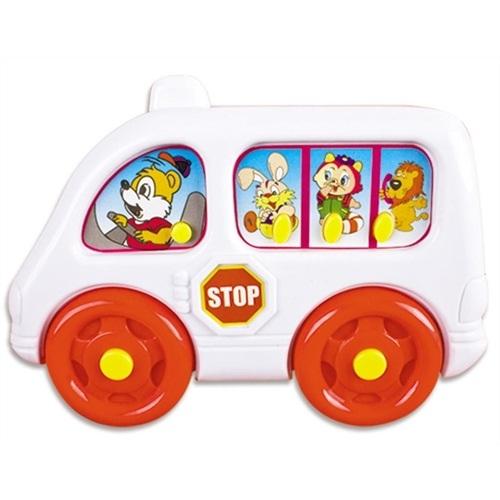 Ônibus Escolar Bebê Musical - Braskit