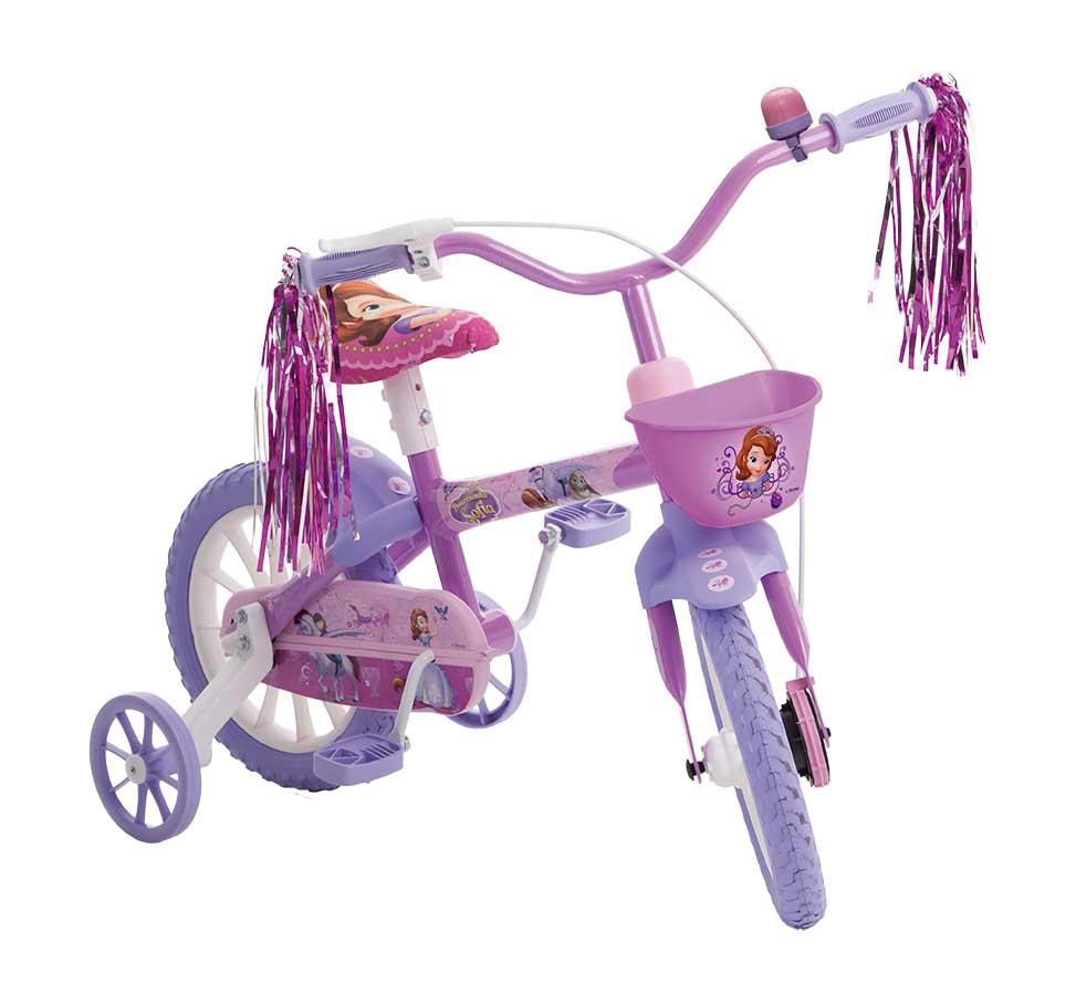 Bicicleta Princesinha Sofia Aro 12 - Multibrink