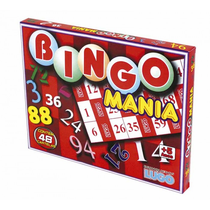 Bingo Mania - Brinquedos Lugo