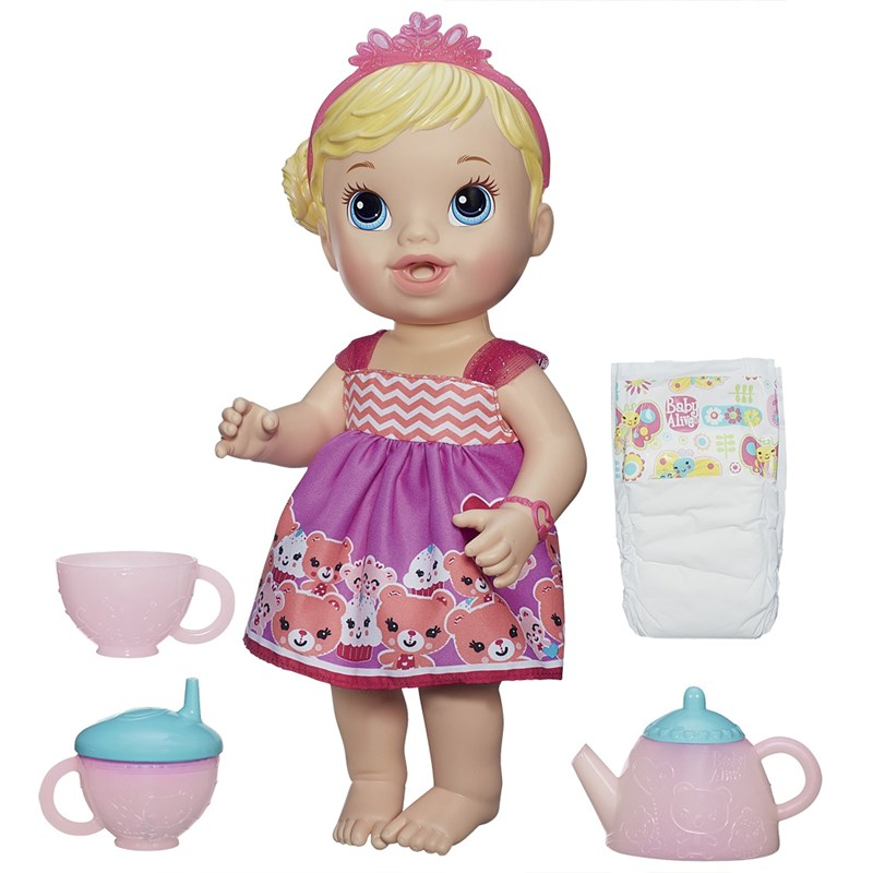Boneca Baby Alive Loira Hora do Chá - Hasbro