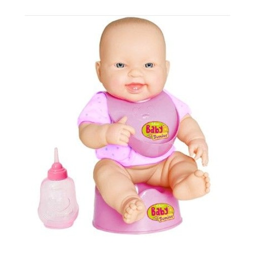 Boneca Baby Junior Faz Pipi - Cotiplás