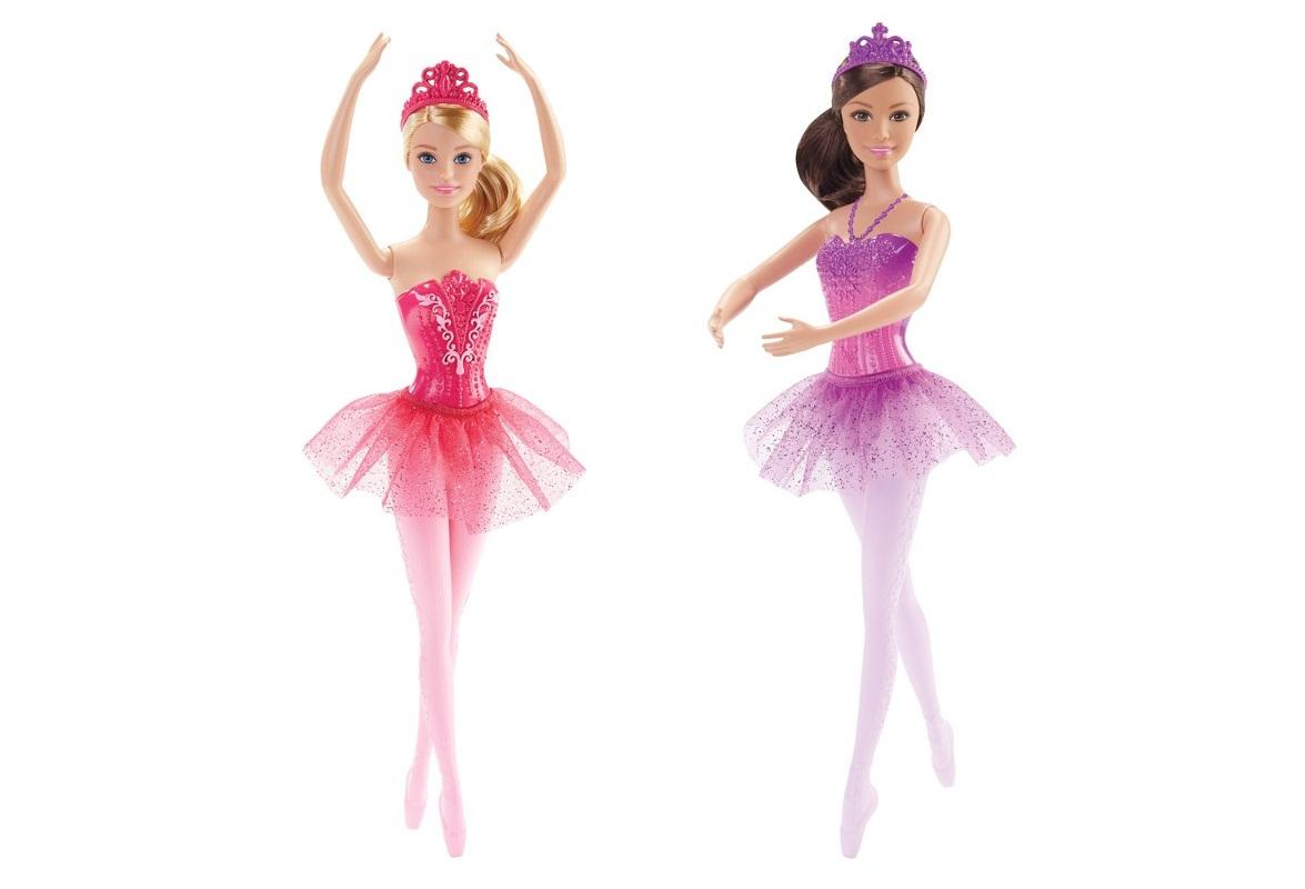 Boneca Barbie Bailarina - Loira/ Morena - Mattel