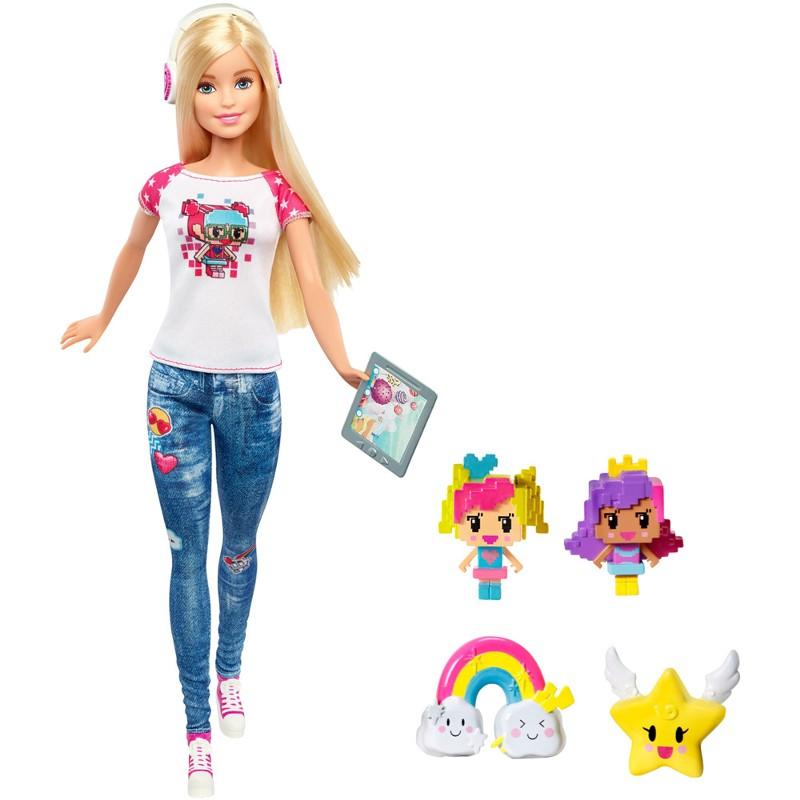 Boneca Barbie Em Um Mundo de Vídeo Game - Mattel