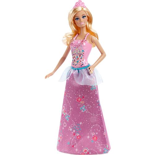 Boneca Barbie Mix Match Princesa Rosa - Mattel
