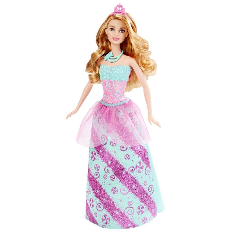 Boneca Barbie Princesa Reinos M�gicos Reino dos Doces - Mattel