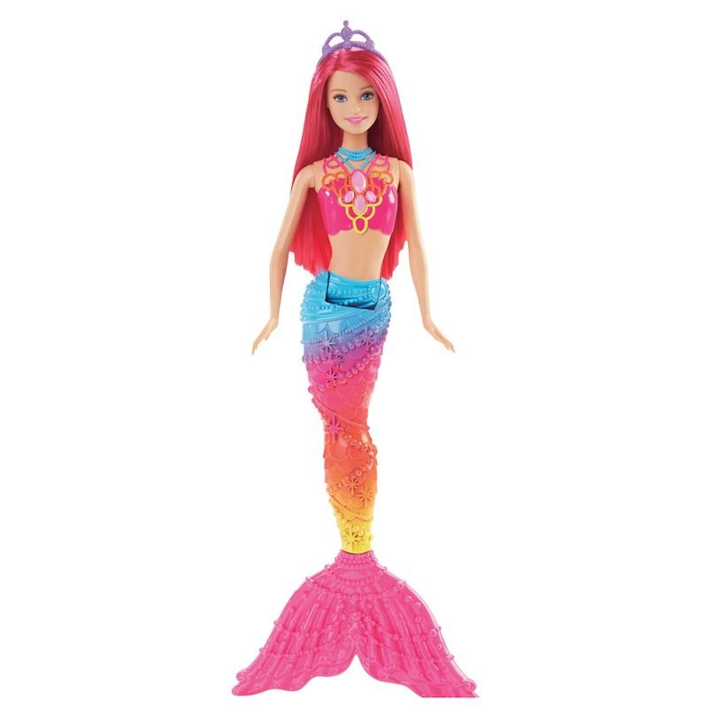 Boneca Barbie Reinos M�gicos Sereia do Reino dos Arco-�ris - Mattel