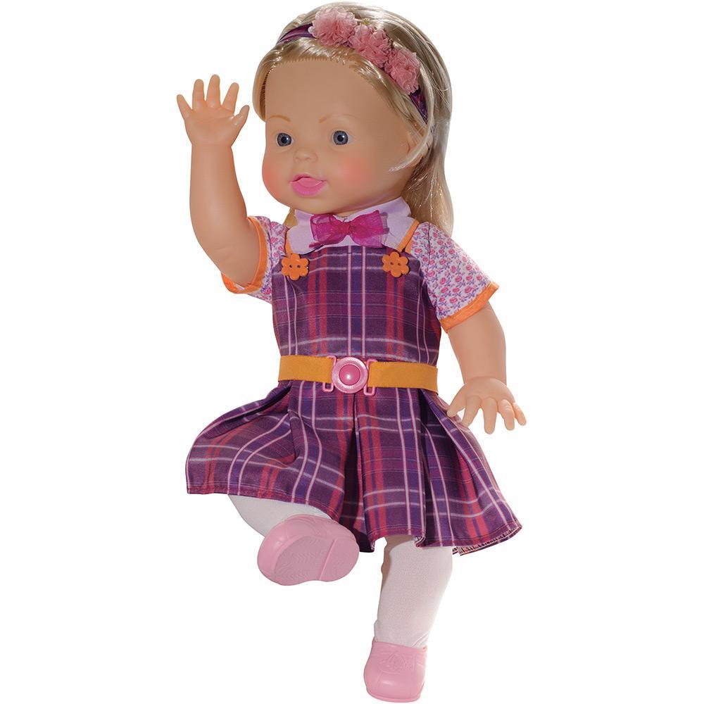 Boneca Carinha de Anjo Dulce Maria - Baby Brink