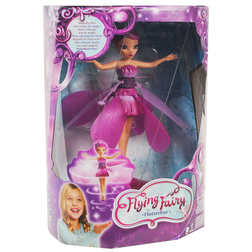Boneca Fada Voadora Flying Fairy Rosa - MultiKids