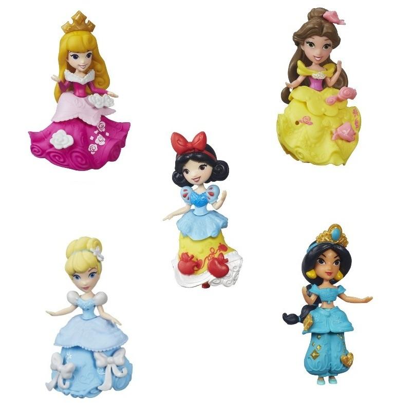 Boneca Princesas Pequeno Reino Little Kingdom  - Aurora/ Bela/ Branca de Neve/ Cinderela/ Jasmine - Hasbro
