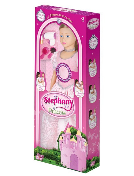 Boneca Stephany Teen Princess - Baby Brink