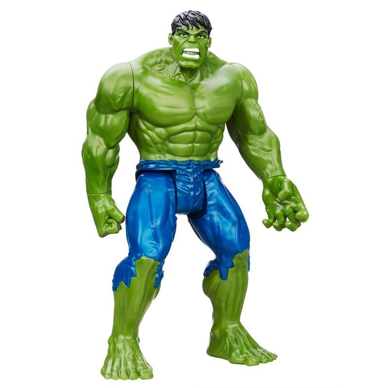 Boneco Articulado Titan Hero Series Marvel Avengers Hulk 30cm - Hasbro