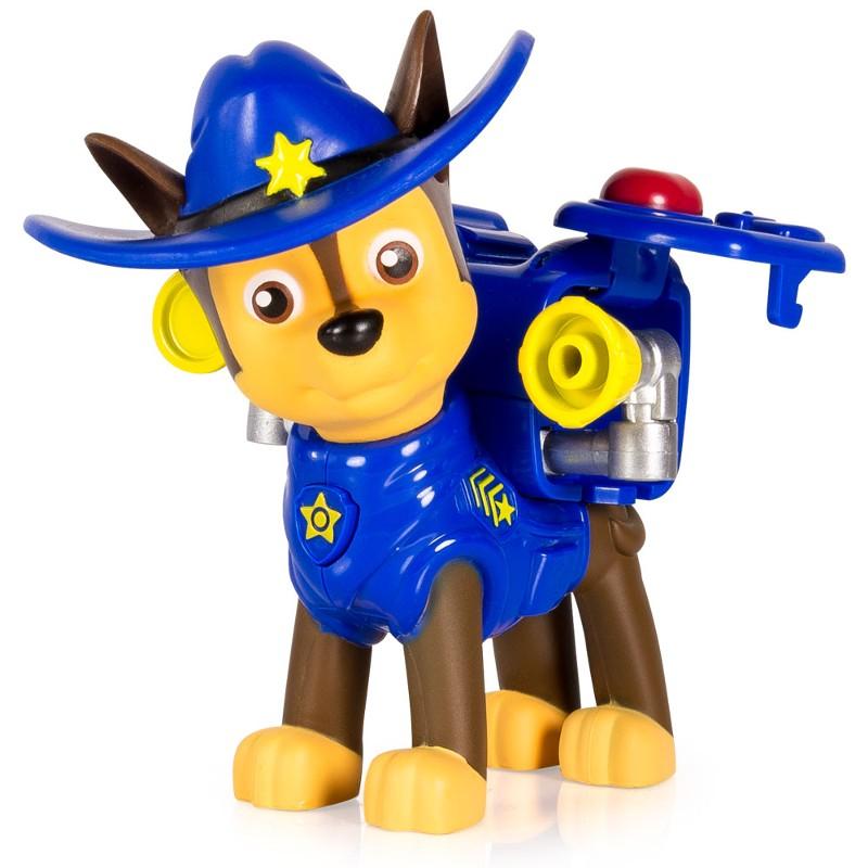 Boneco com Mecanismo Patrulha Canina Chase Cowboy - Sunny
