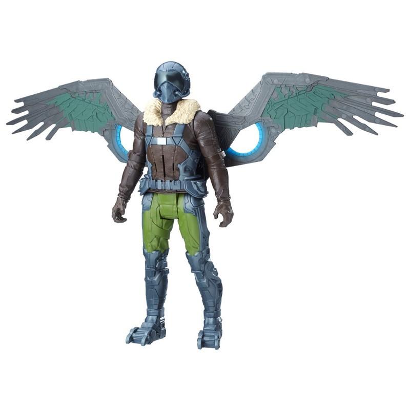 Boneco Spider Man Homecoming Eletrônico Marvel's Vulture - Hasbro