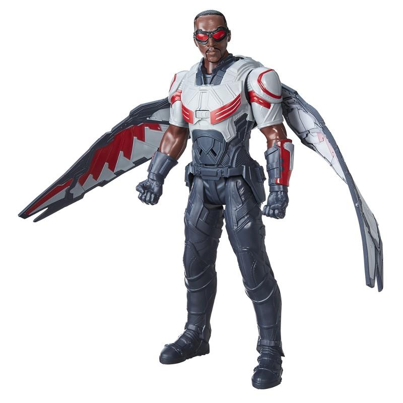 Boneco Eletr�nico Titan Hero Series Marvel Capit�o Am�rica Guerra Civil M�quina de Guerra - Hasbro