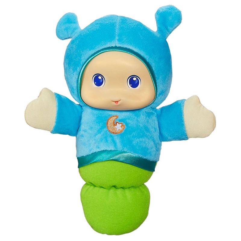 Boneco Lullaby Gloworm Azul Playskool - Hasbro