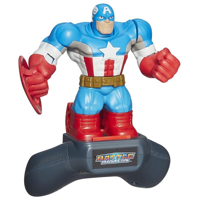 Boneco Marvel Battle Masters Heros Capitão América - Hasbro