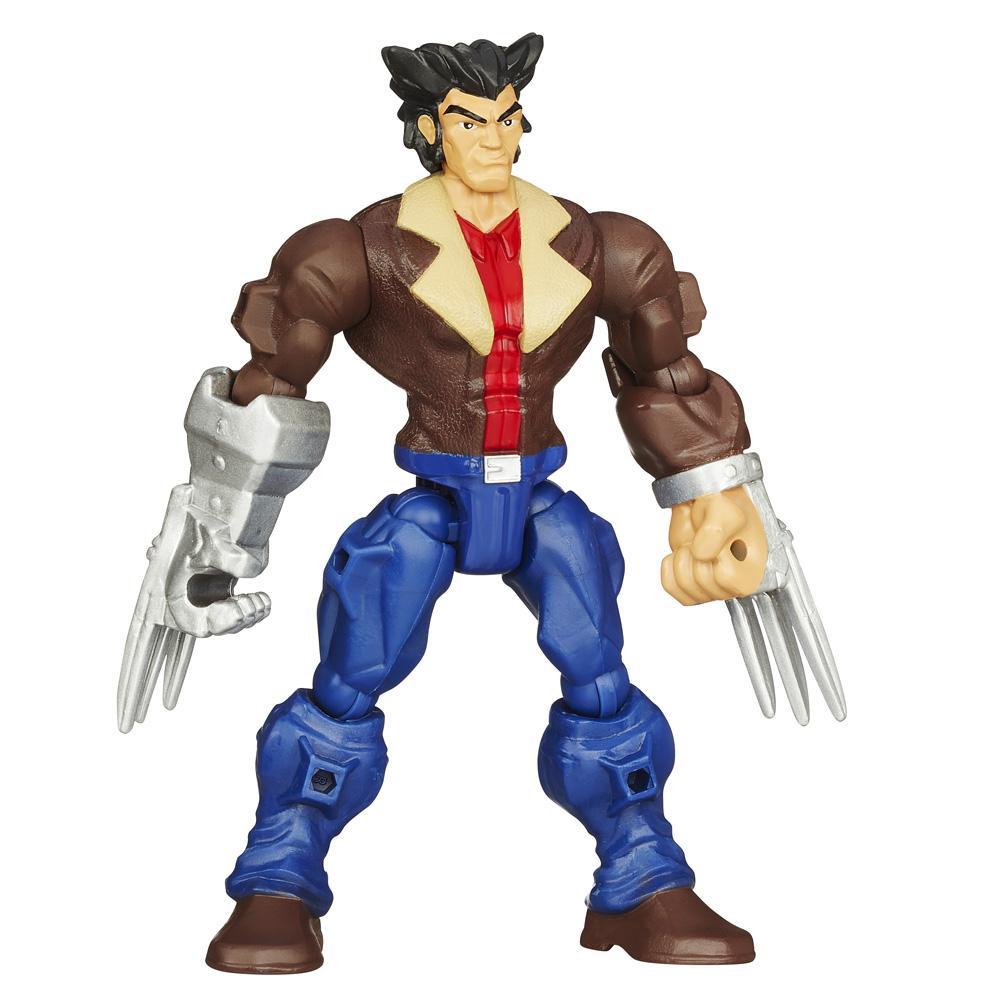 Boneco Marvel Super Hero Mashers Wolverine - Hasbro