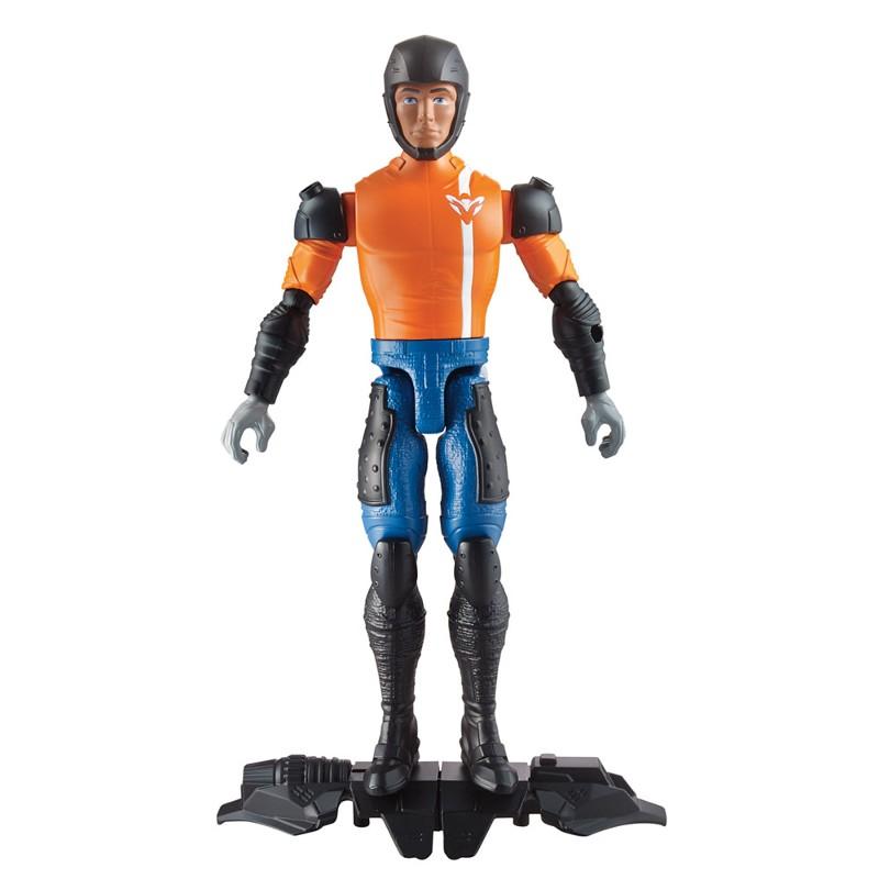 Boneco Max Steel Max Skate Lançador - Mattel