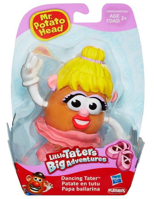 Boneca Mr. Potato Head Sra. Papa Bailarina - Hasbro