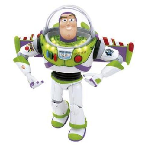 Boneco O Poderoso Buzz Toy Story Disney - Multikids
