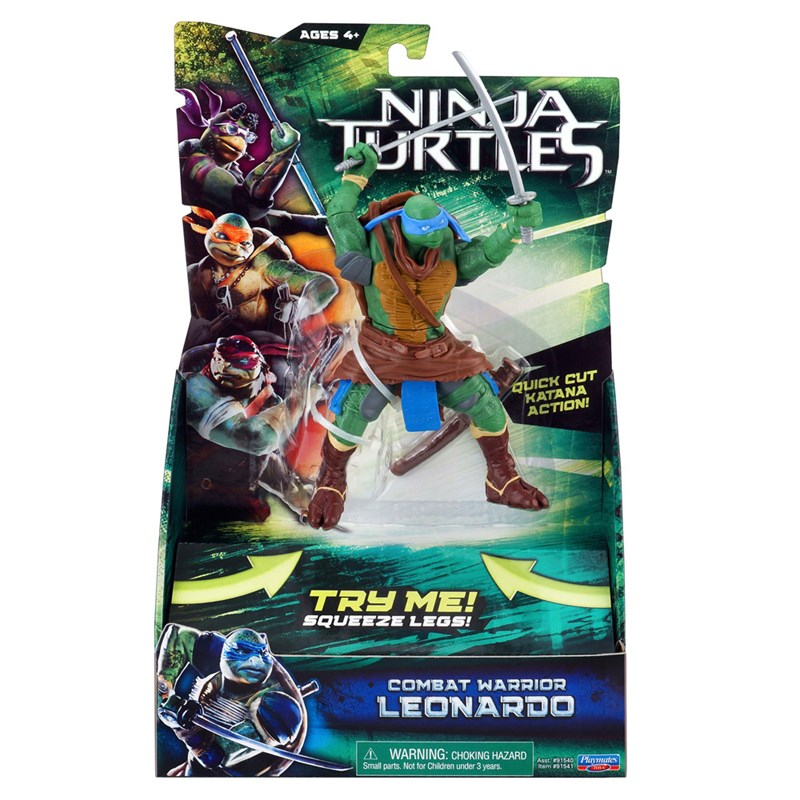 Boneco Tartarugas Ninja Leonardo – Multikids