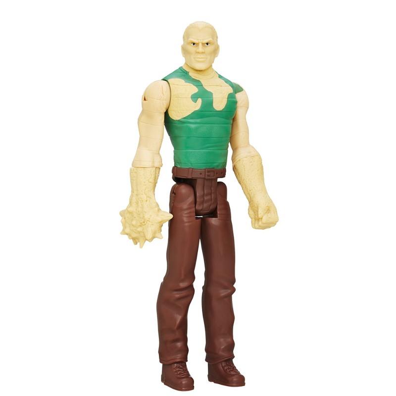 Boneco Titan Hero Series Ultimate Spider-Man Vs Sexteto Sinistro Sandman - Hasbro