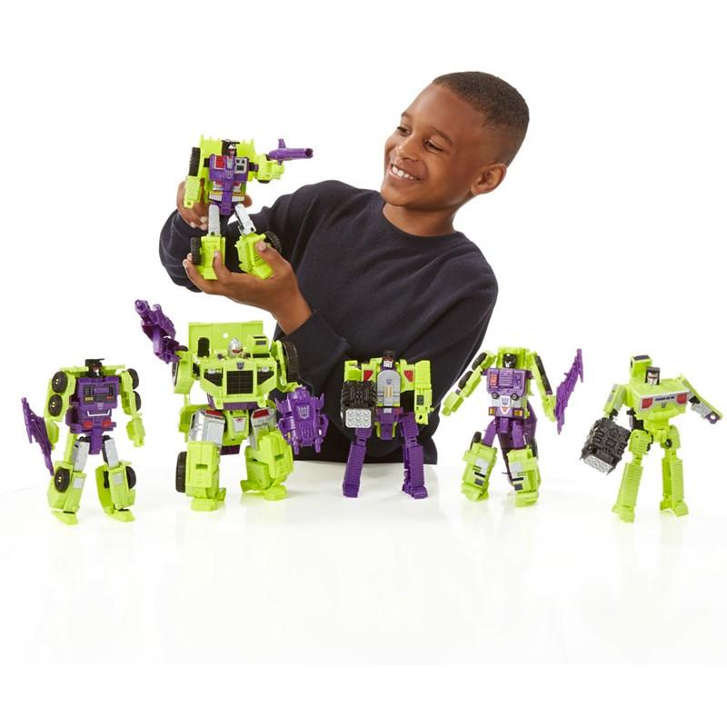 Boneco Transformers Generations Combiner Wars Devastator - Hasbro