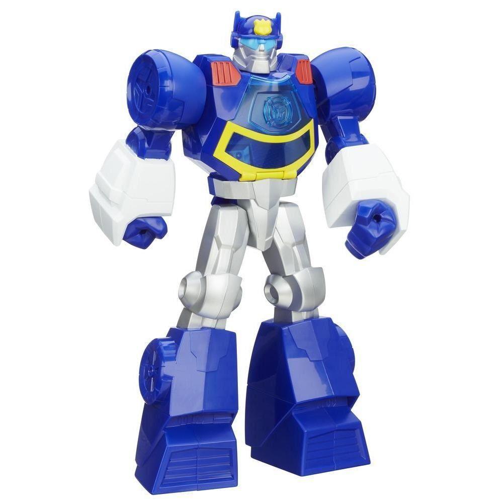 Boneco Transformers Playskool Heroes Rescue Bots Chase o Robô Policial - Hasbro