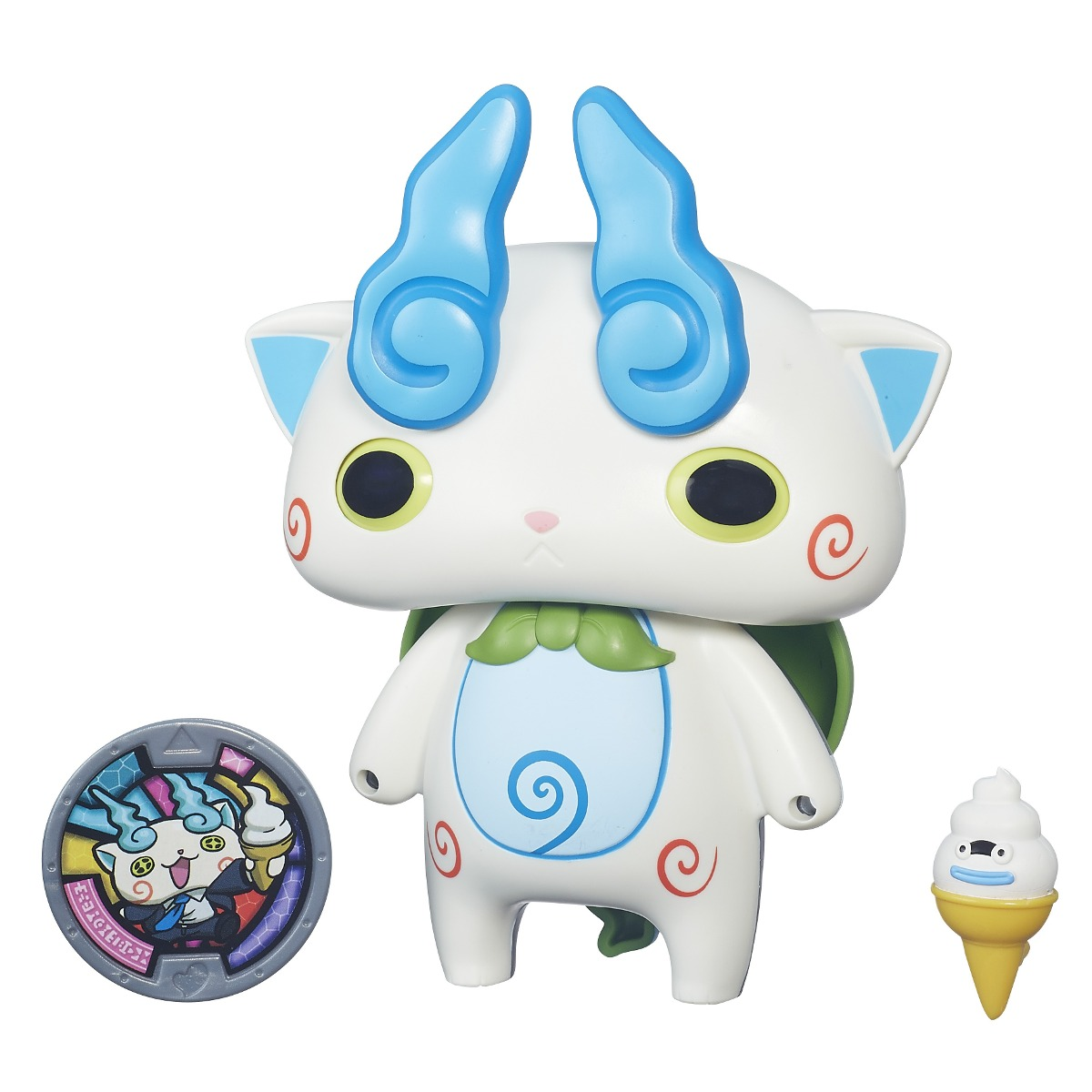 Boneco Yo-kai Watch Komasan Transformavel + Medalha - Hasbro