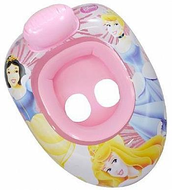 Bote Inflável Infantil Princesas Rosa - Amatoys