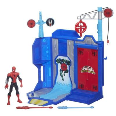 Campo de Treinamento Ultimate Spider Man Web-Warriors - Hasbro