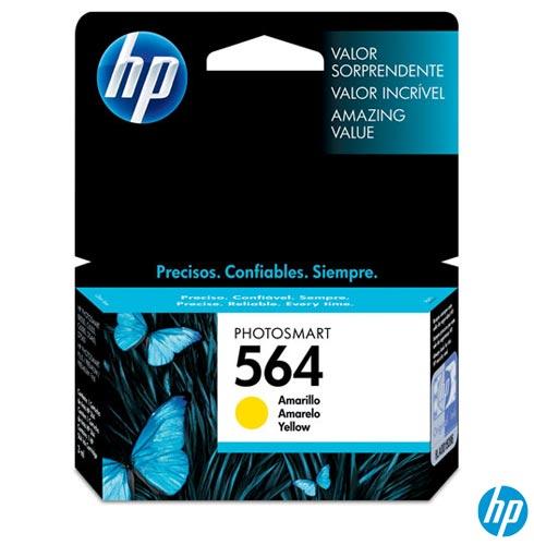 Cartucho HP Original 564 Amarelo – HP