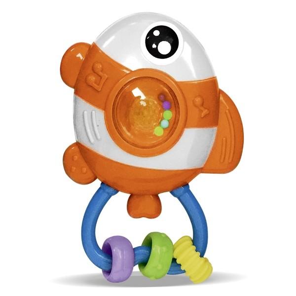 Chocalho Amiguinho do Mar Peixinho com Luz e Som - Zoop Toys