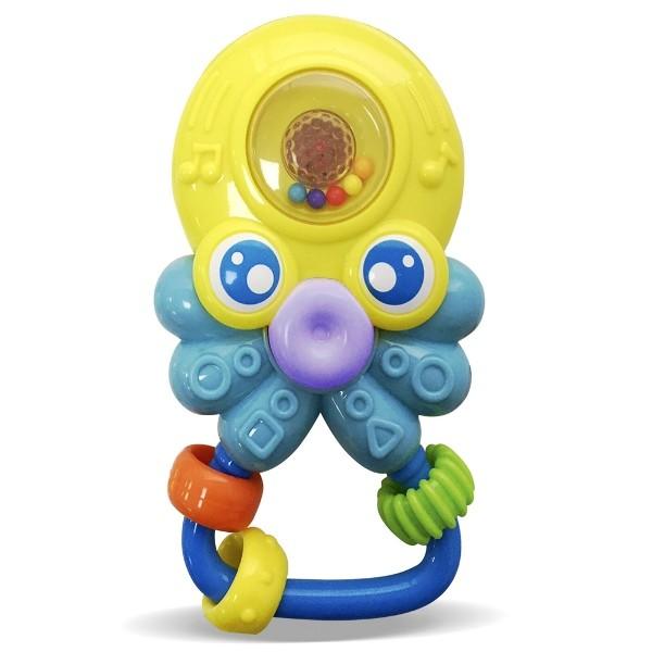 Chocalho Amiguinho do Mar Polvinho com Luz e Som - Zoop Toys