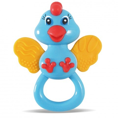 Chocalho Zoop Primeiros Passos Passarinho - Zoop Toys