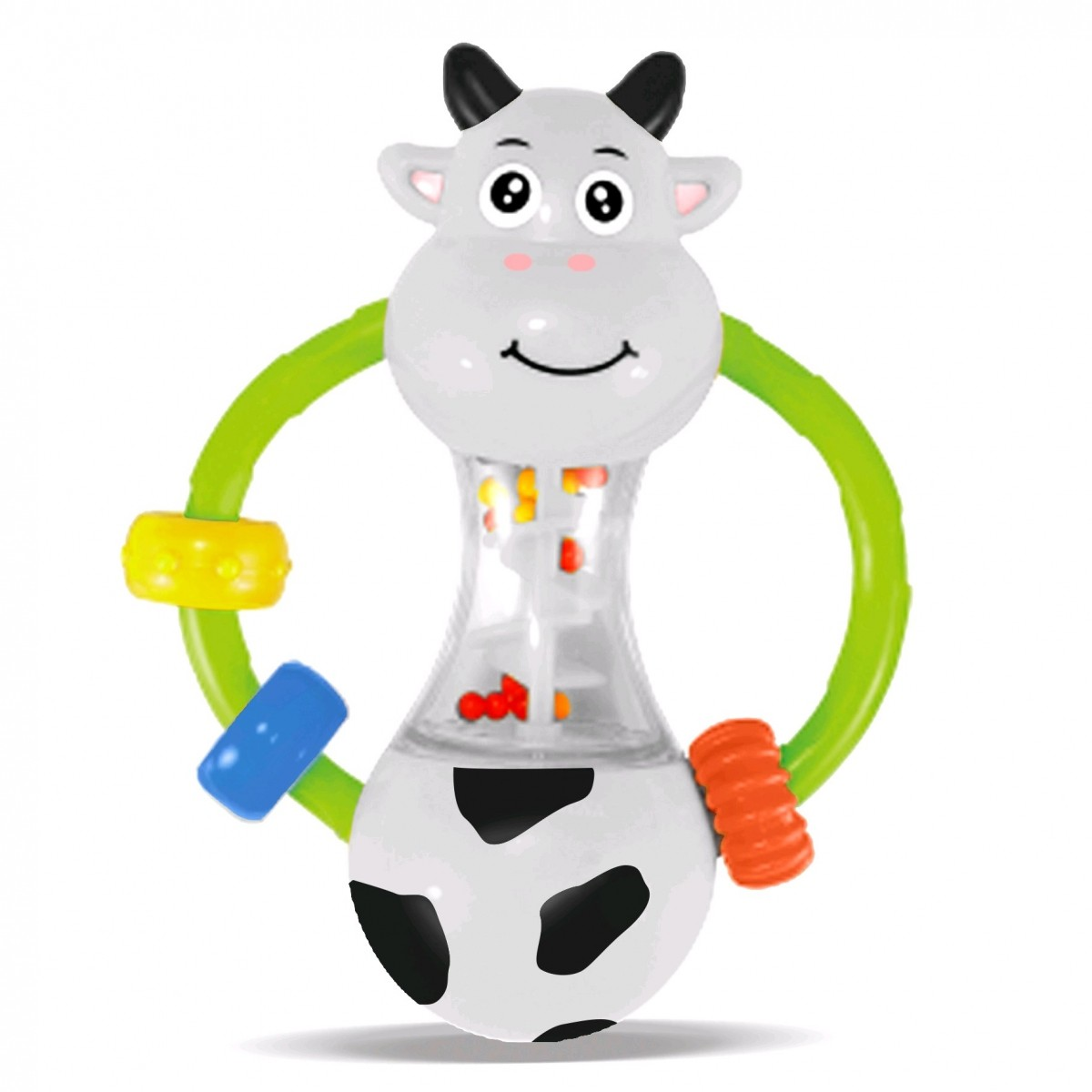 Chocalho Zoop Primeiros Passos Vaquinha - Zoop Toys