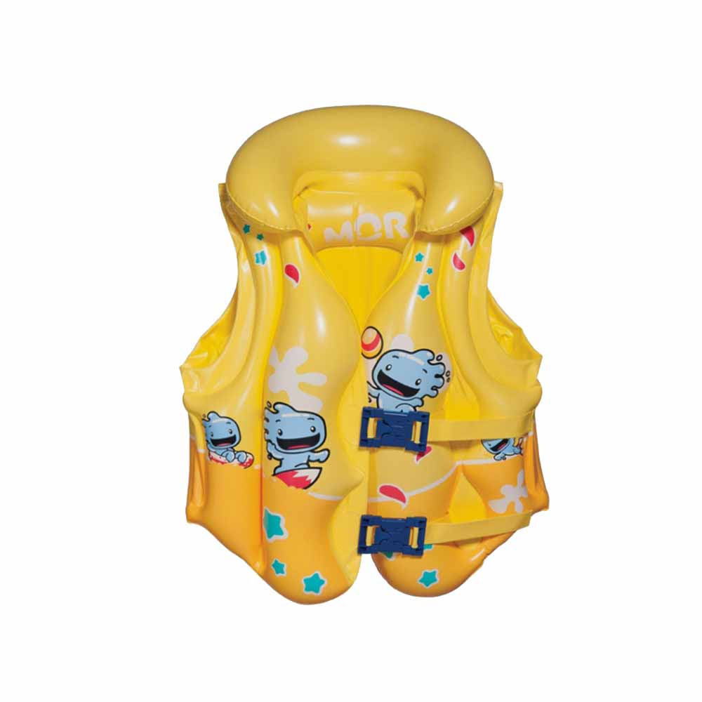 Colete Inflável Infantil Premium Atlantis Amarelo - MOR