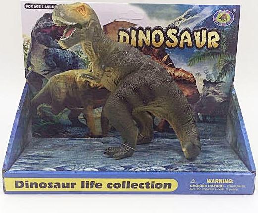 Dinossauro Dinosaur Life Collection Tiranossauro Rex - Coloria
