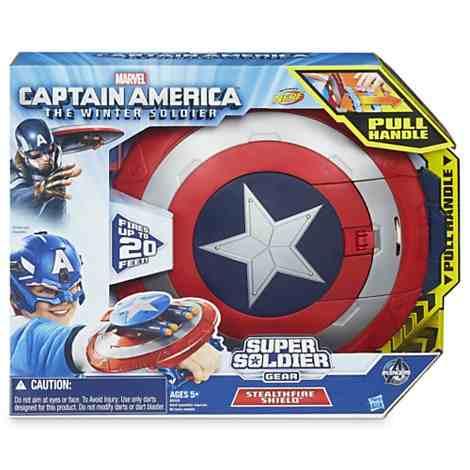 Escudo Lança Dardos Capitão América - Hasbro