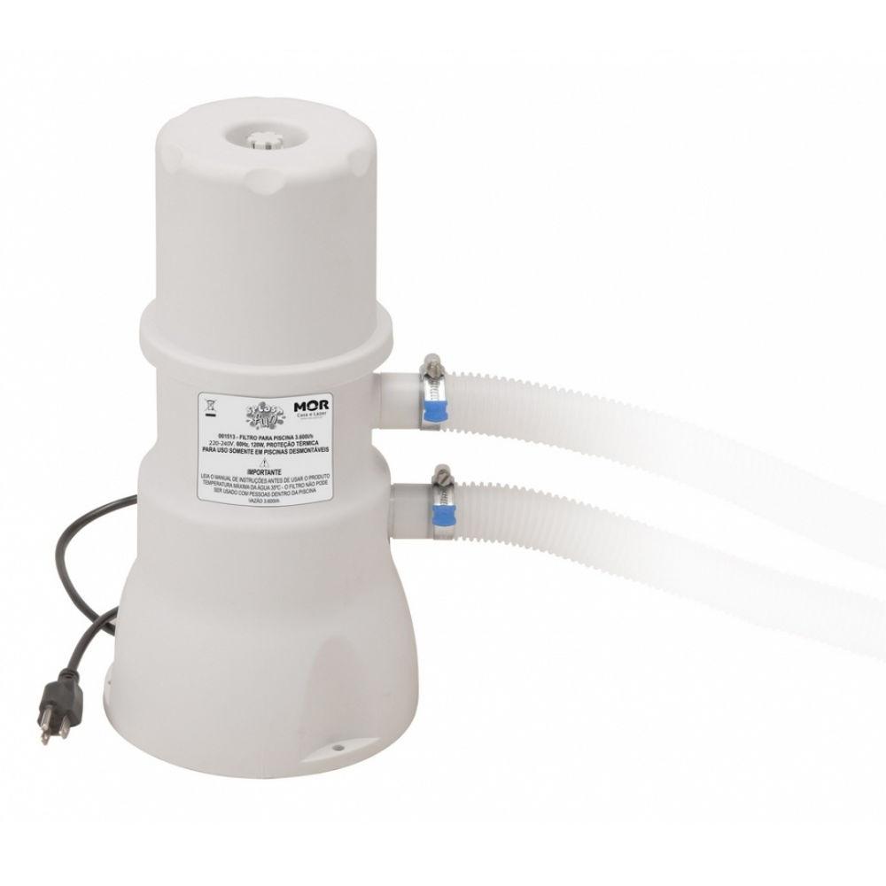 Filtro Para Piscina 3600 L/H 220V - MOR
