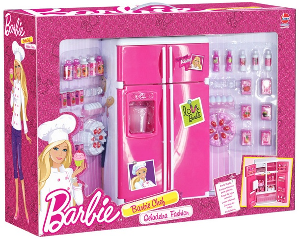 Geladeira Fashion Barbie Chef - Lider