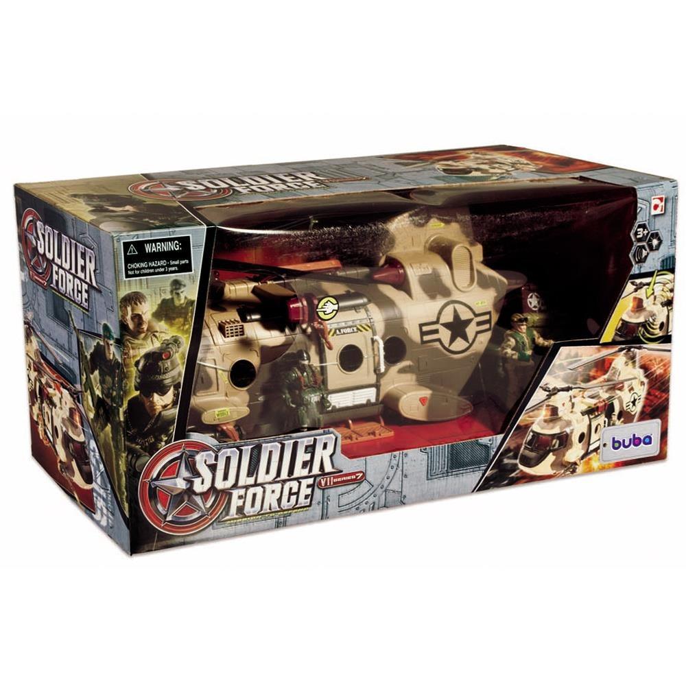 Helicoptero Grande Soldier Force - Buba Toys