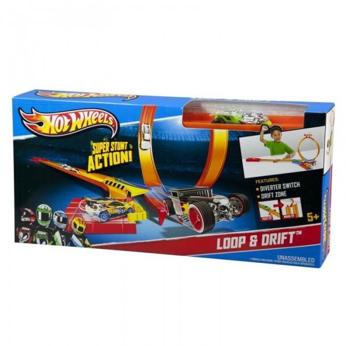 Hot Wheels Pista Desafios Loop e Drift - Mattel