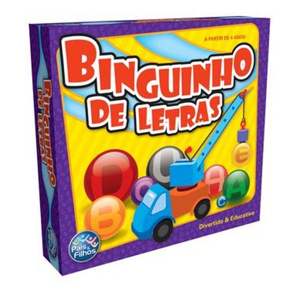 Jogo Binguinho de Letras - Pais e Filhos