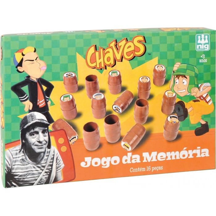 Jogo da Memória Chaves com 16 Peças - Nig