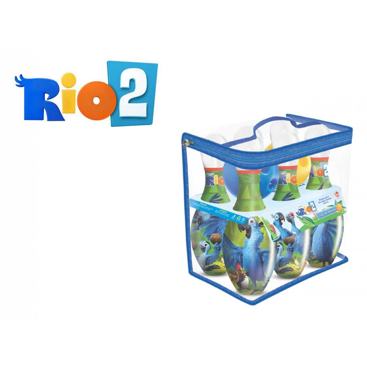 Jogo de Boliche Rio 2 - Lider Brinquedos