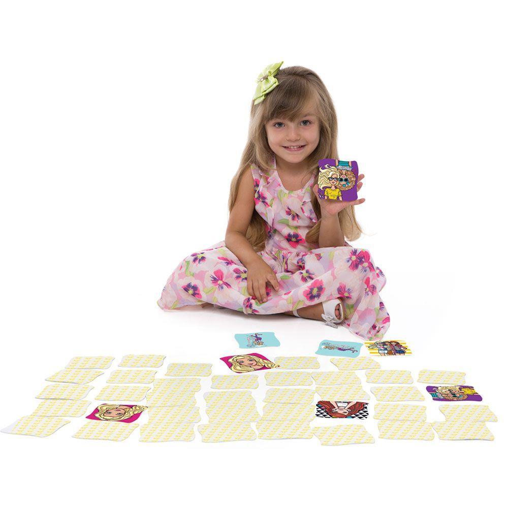 Jogo de Memória Grandão Barbie - Jak
