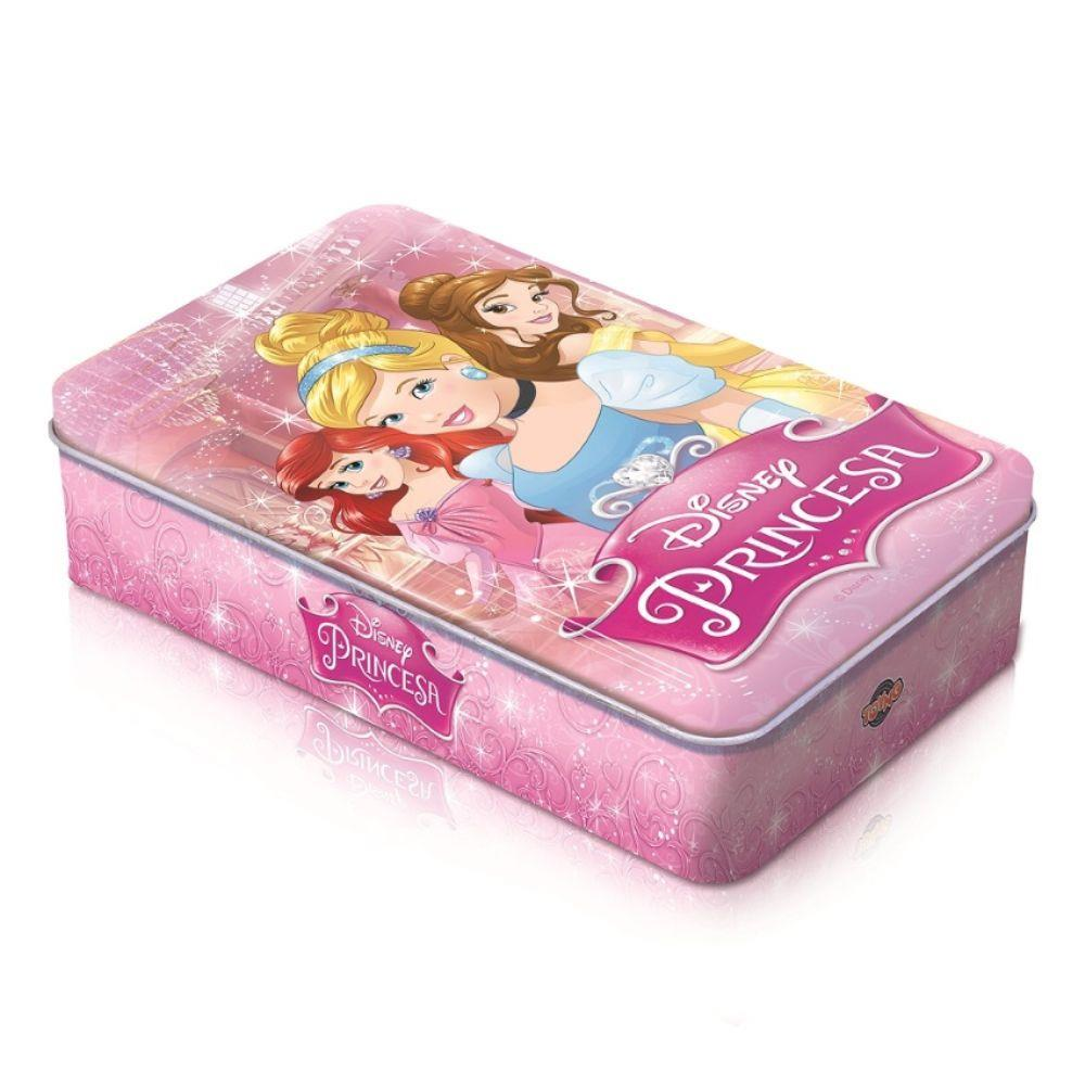 Jogo Dominó Princesas Disney Lata - Toyng