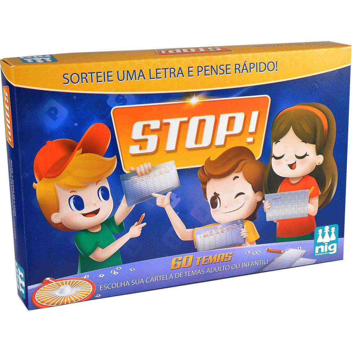 Jogo Stop - Nig